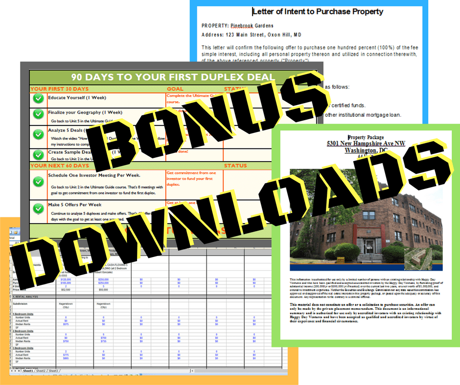Click here to download the bonuses
