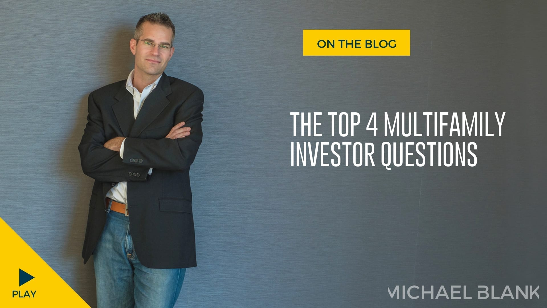 The Top 4 Multifamily Investor Questions