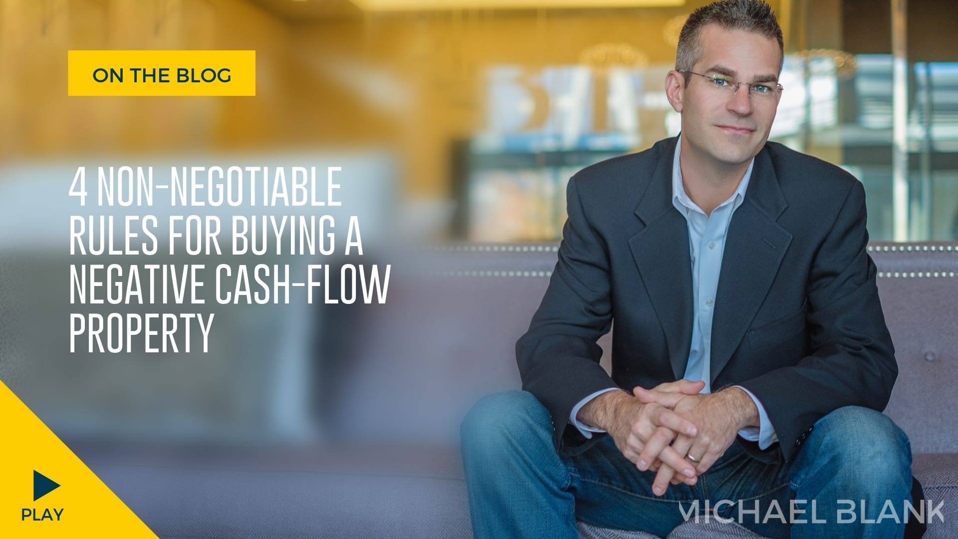 4 Non-Negotiable Rules For Buying a Negative Cash-Flow Property
