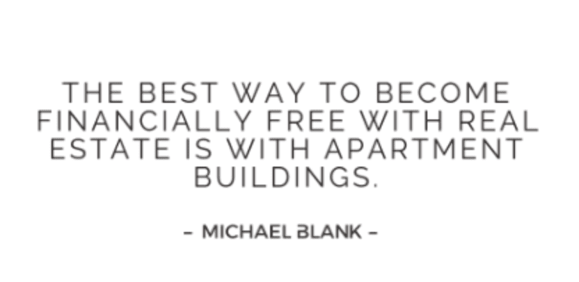michael blank quote