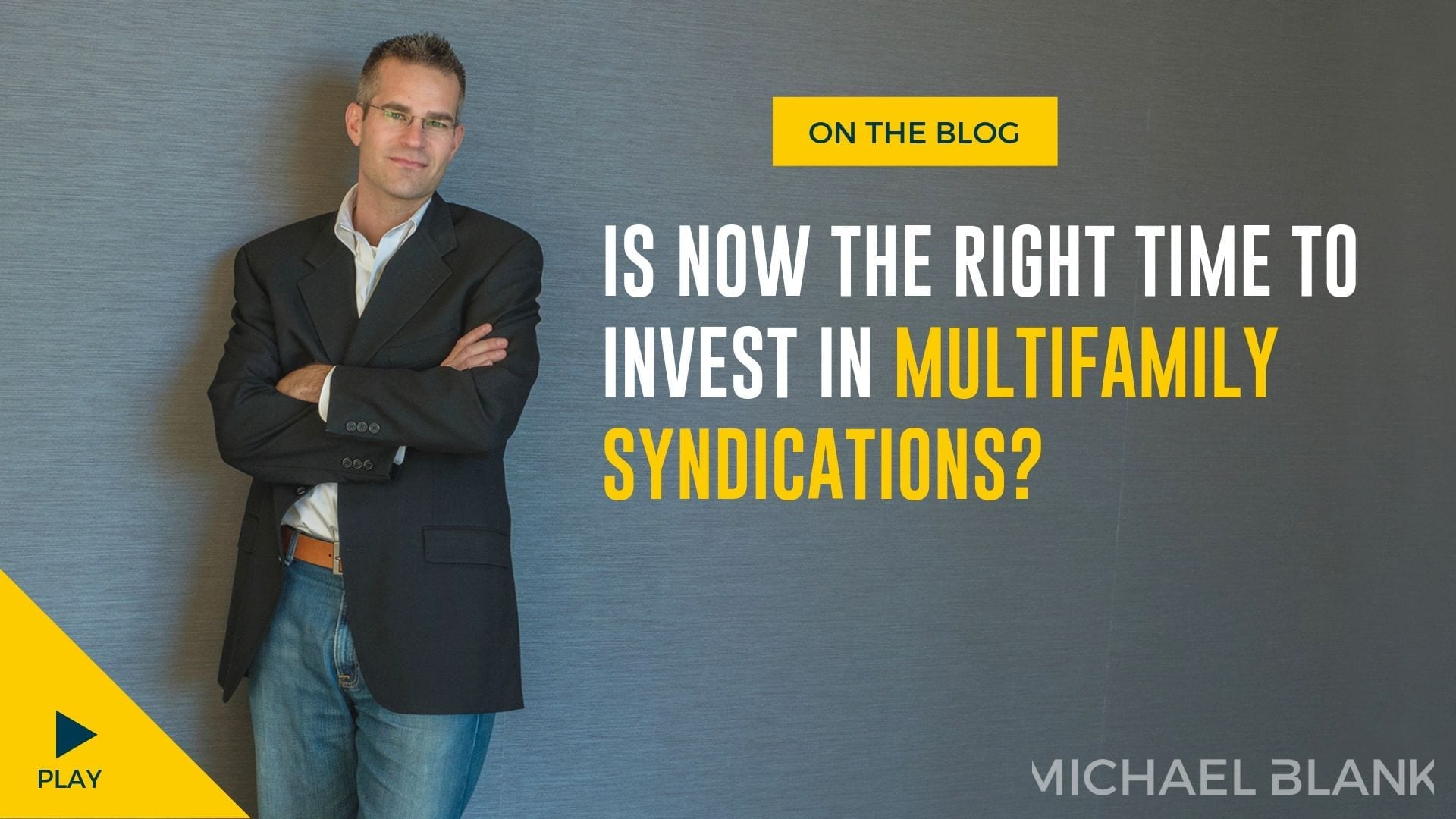Is Now the Right Time to Invest in Multifamily Syndications?